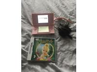 Nintendo DS, Tinkerbell game & charger