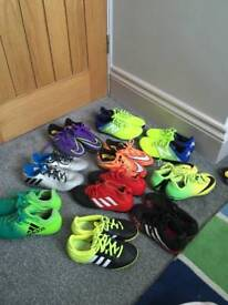 Football boots size 11 to 13