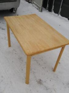"Oakville IKEA Dining Table 47x29x29"" Kitchen Solid Wood Pine"