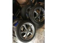 "Alloys and tyres 18"" bmw"