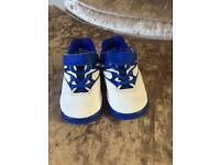 Adidas infant football boots size 5