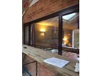 Window -external double glazed