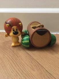 RaaRaa The Noisy Lion and Cubby Buggy