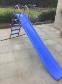 Kids children's garden chute slide outdoor toy ELC age 3-8 year