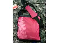 Lost pink bag in metline
