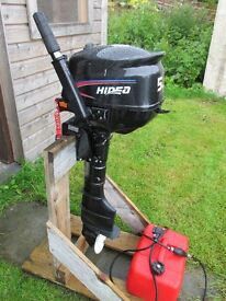 Hidea 5hp four stroke outboard