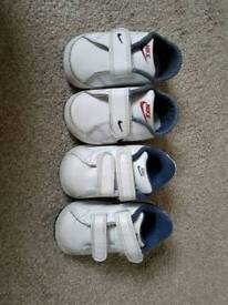 Nike 2.5 and 3 baby trainers