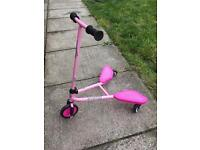 Sporter junior pink scooter