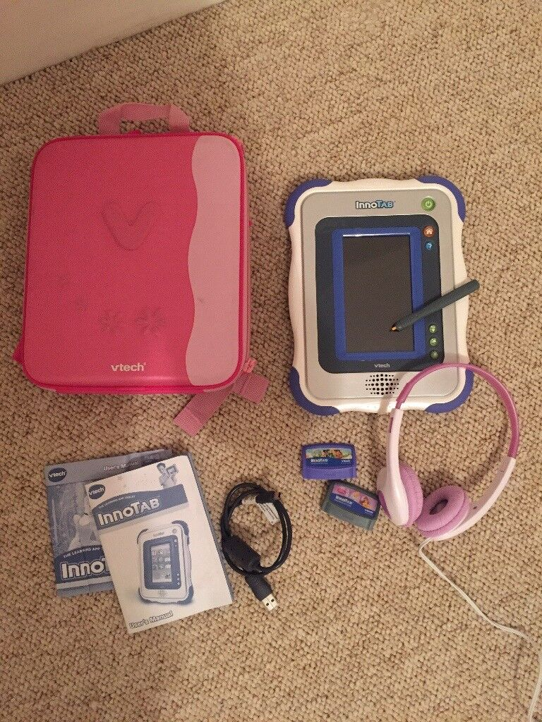 Vtech InnoTAB with accessories
