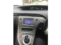 Toyota Prius 62(13) plate TSpirit,PCO July 18 half leather,92000 miles,full history, 1 owner,silver