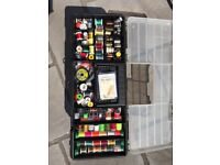 Fly Tying equipment, extensive collection for sale