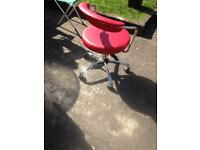 Funky Retro Diner Swivel Chair