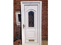 upvc front door with 1 key £40