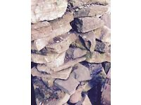 Various size rocks ideal for makin a rockery