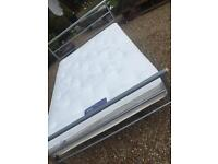 DOUBLE BED WITH SILENTNIGHT MATTRESS