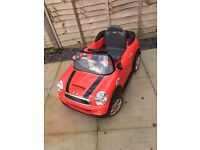 Child's Electric Mini Cooper Car 6V