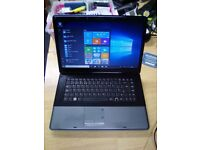 Sorrento 15.6inch Laptop, Windows 10 & MS Works, Wifi, 160gb HD, DVD, Charger
