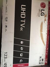 sale or swap brand new 49 inch 4k pro lg ultra smart led tv