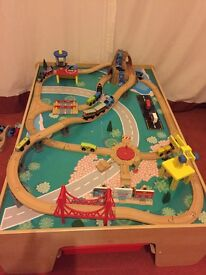 Train Table - complete with accessories excellent.