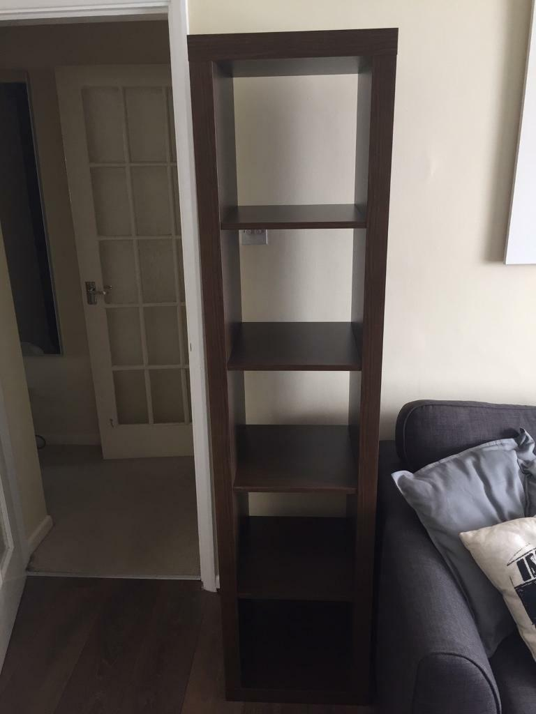 ikea expedit kallas dark oak walnut 5 cube shelf unit in dudley west midlands gumtree. Black Bedroom Furniture Sets. Home Design Ideas