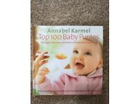Must Have! Top 100 baby purees Annabel Karmel book