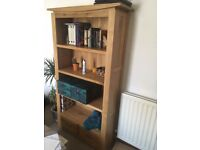 Tall Bookcase - Tokyo Natural Solid Oak Furnitures - Moving sale