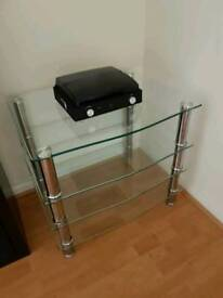 TV glass Table/stand