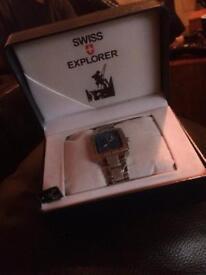 Swiss Explorer Watch