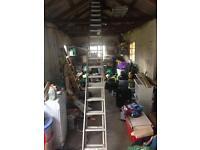 4 metre double ladders