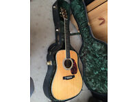 Martin Acoustic Guitar D41 Special. As new. Sell or exchange for Gibson Mandolin
