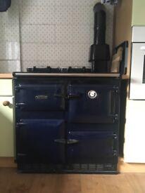 Gas Rayburn 480 AG (CF), Dark Blue.