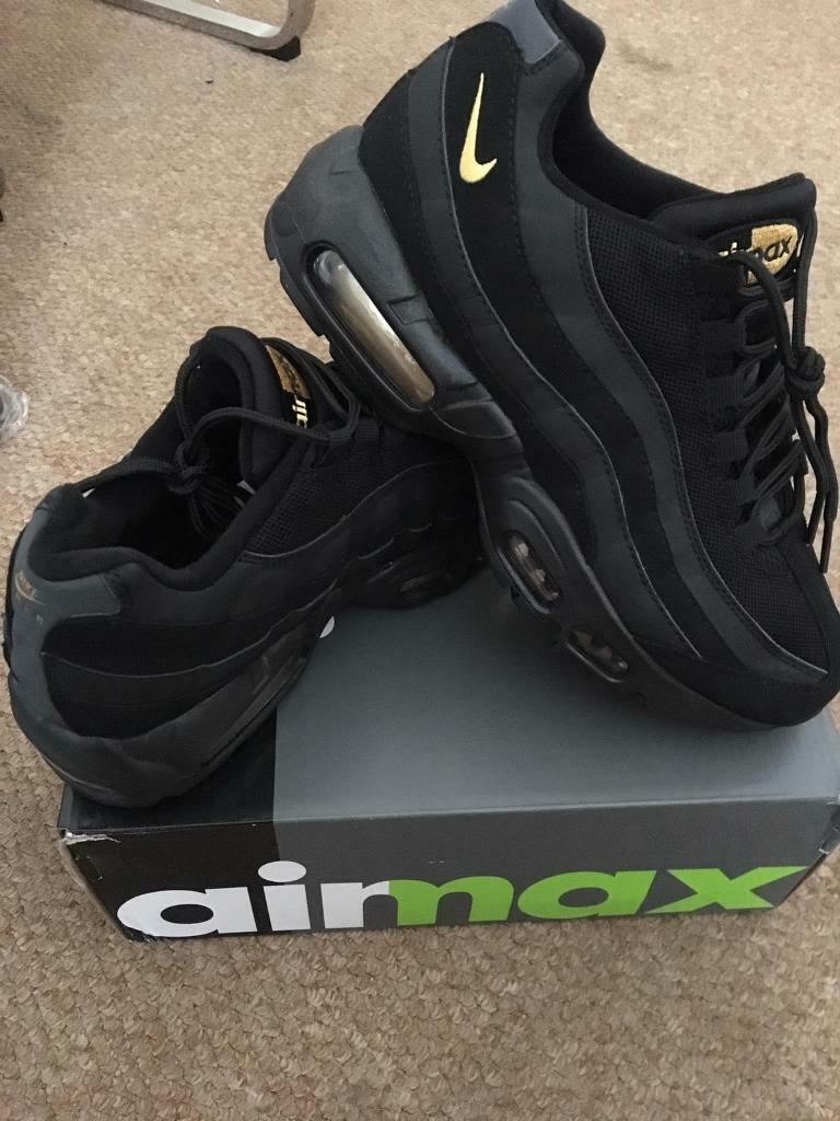SIZE 6 7 8 9 10 BRAND NEW NIKE AIRMAX 95 110 AIR MAX BOXED TRAINERS 95s 110s BLACK (NOT) tn 90 97 i Erdington, West MidlandsGumtree i Erdington, West Midlands Gumtree