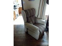 Mobility lift and rise recliner chair, approximately 2 years old. Barely used.