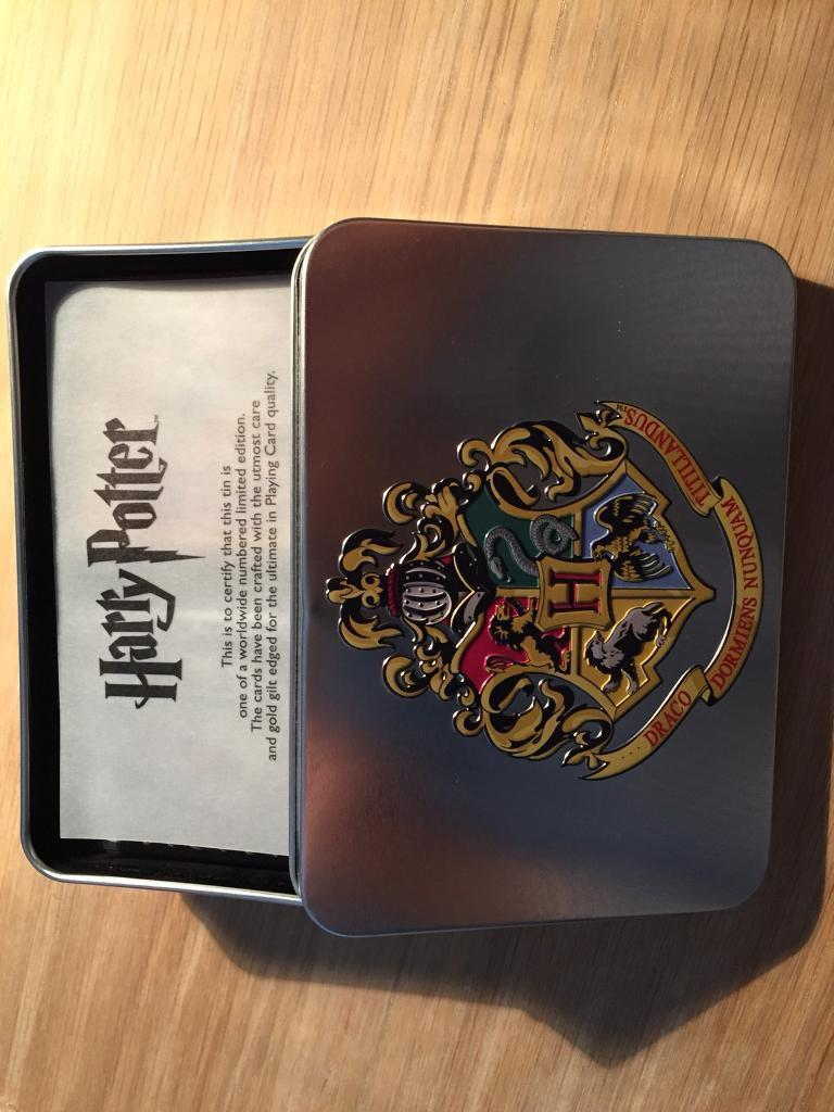 Harry Potter Limited Edition Cards