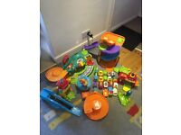 Job lot of V-Tech Toot Toot toys