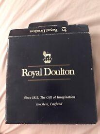 2 Royal Doulton tea plates matching