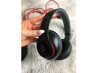 Beats by Dr. Dre Studio 2.0 Over-ear headphones Black Red Gloss