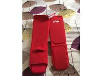 Fairtex Shin/Foot protector Pads - Never worn