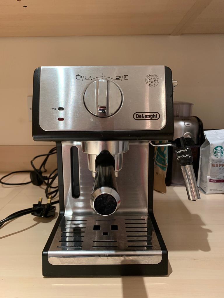 Delonghi Ecp 35 31 Coffee Machine Milk Jug In Radyr