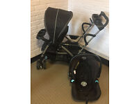 Graco Roomfor2 Sit and stand Double/triple stroller with Graco Carseat