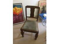 Vintage dining chairs x 2