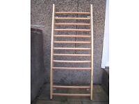 Gymnastic wall bars (Swedish ladder)