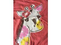 Jojo Maman Bebe George girls t-shirt