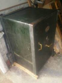 Antique Victorian safe, full size