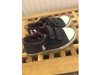 Ralph Lauren boy shoes