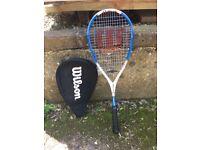 Wilson squash racquet