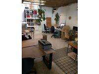 Co-Working Desk Space