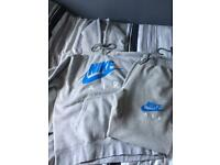 MENS NIKE TRACKSUIT SIZE M BABY BLUE AND GREY