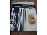 Leckie & Leckie CfE Higher Business Management course notes