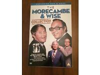 Morecambe & Wise DVD & Book Set. £5